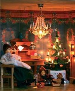 Stimmungsvolle Beleuchtung für Ihr Puppenhaus