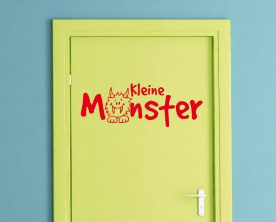 Kinderzimmer-Tür lustig verzieren