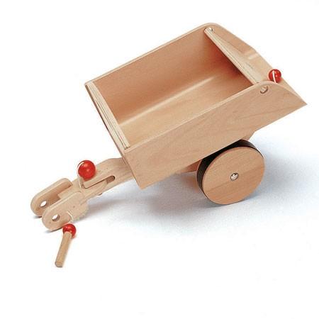 Holzauto Rutscher CombiCar Anhänger