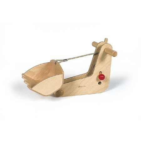 Holzauto Rutscher CombiCar Bagger