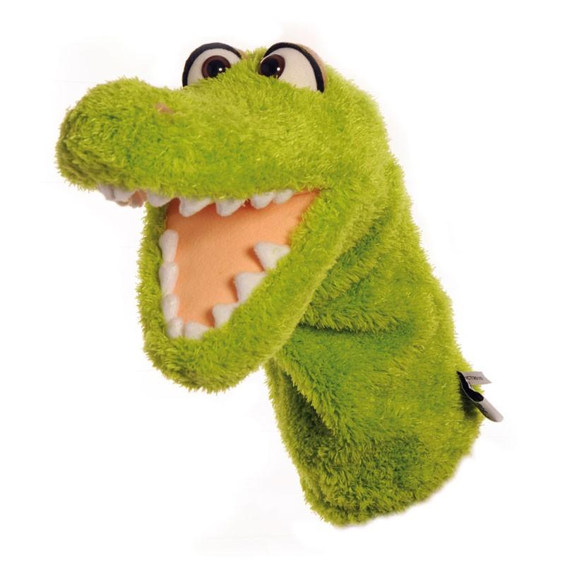Handpuppe Quasselwurm Krokodil Ulfilein