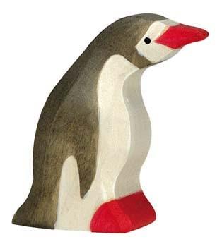 holztiger holzfigur pinguin klein. Black Bedroom Furniture Sets. Home Design Ideas