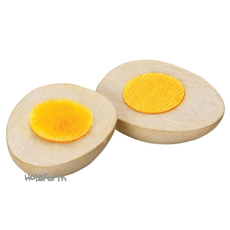 Kaufmannsladenzubehör Ei zum Schneiden
