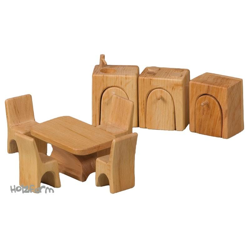 Verneuer Puppenhausmöbel Set Küche