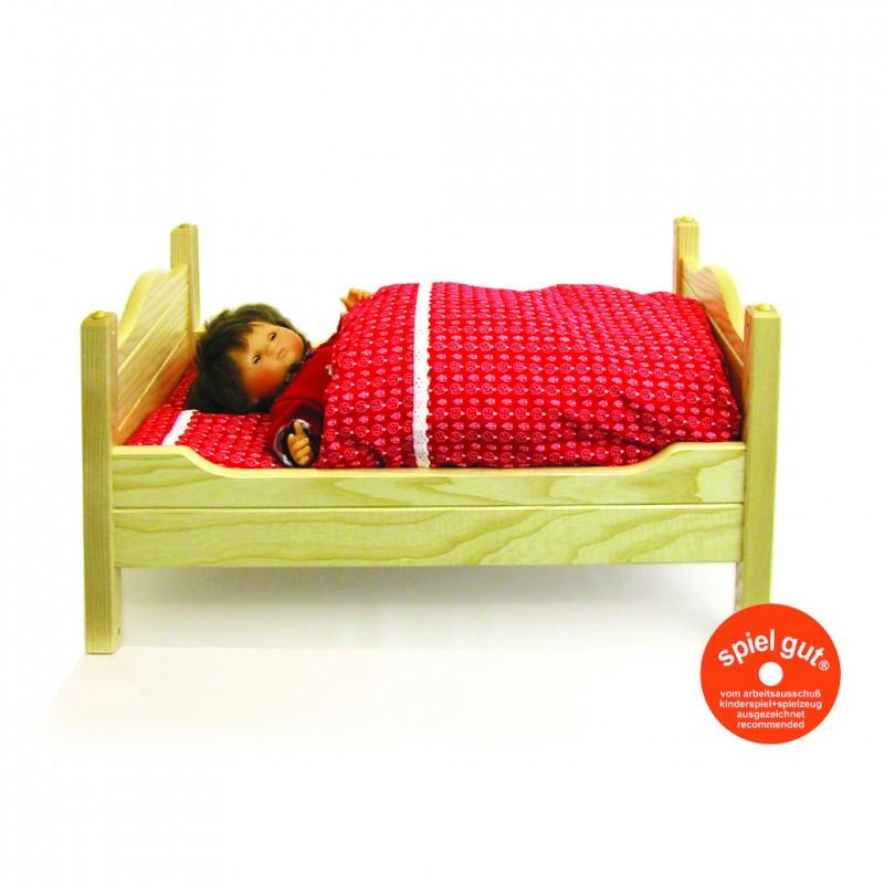 Puppenbett Vario groß mit Bettzeug
