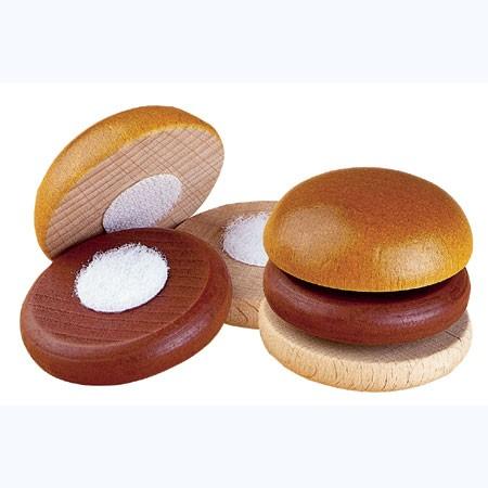 Kaufmannsladenzubehör Hamburger zum Schneiden