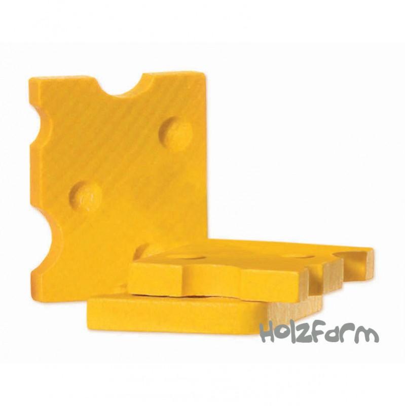 Kaufmannsladenzubehör Schweizer Käse, 1 Scheibe