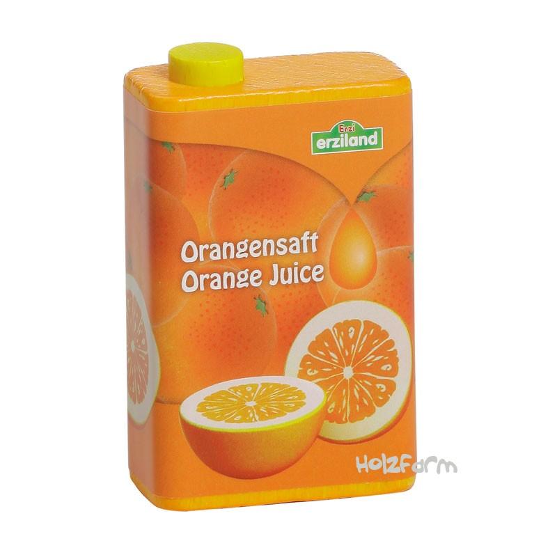 Kaufmannsladenzubehör Orangensaft im Tetra Pak