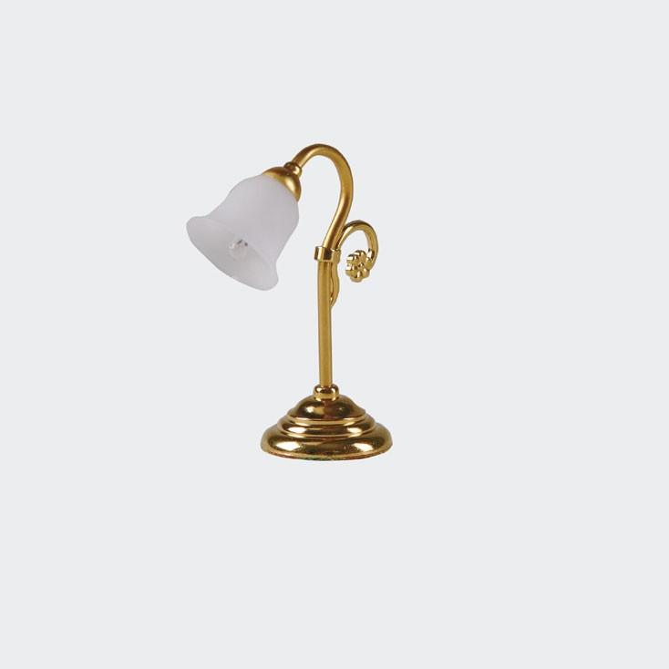 Bodo Hennig Puppenhaus Miniatur Tischlampe hist...
