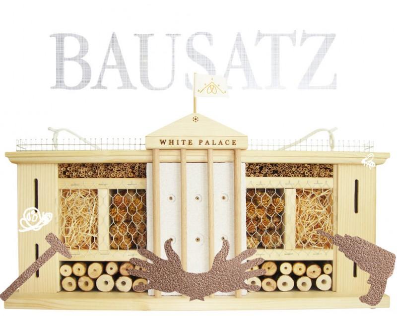 Bausatz Insektenhotel Weißer Palast
