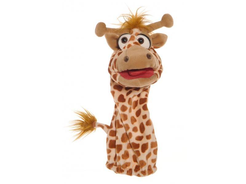 Handpuppe Quasselwurm Giraffe
