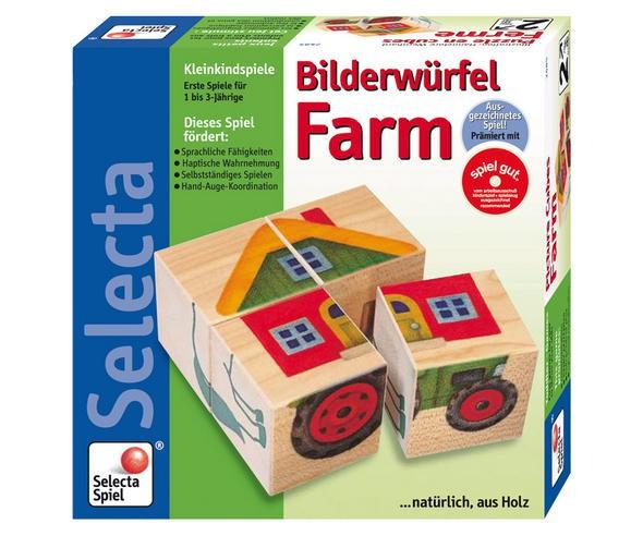 Würfelpuzzle Farm