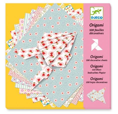 Djeco Origamipapier: pastell