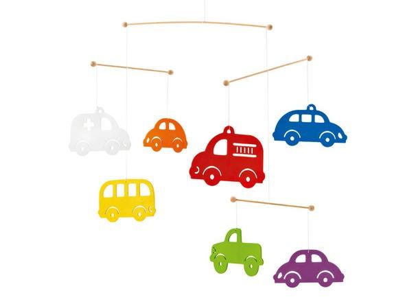 Mobile Bunte Autos