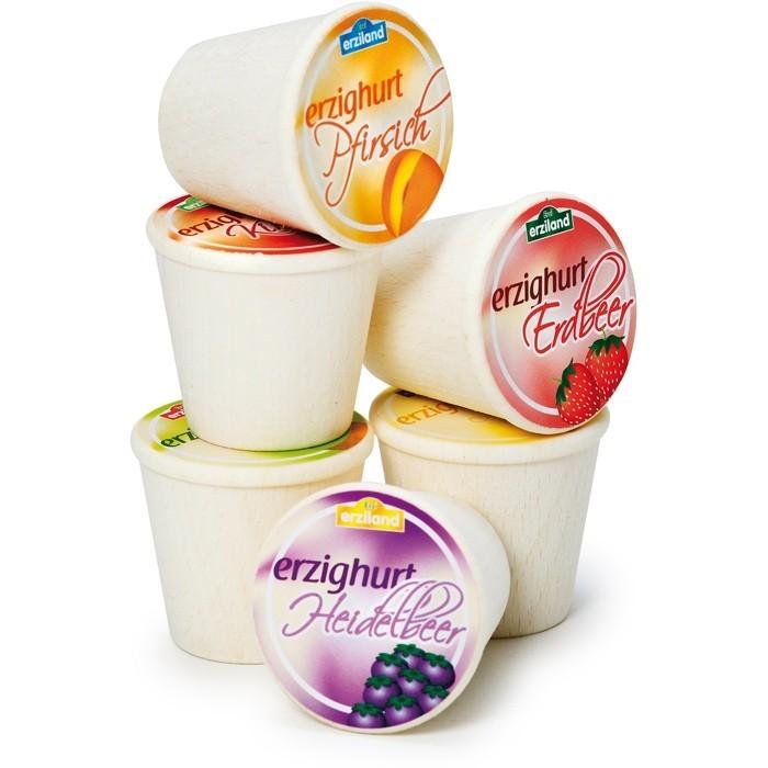 Kaufmannsladenzubehör Joghurt versch. Sorten