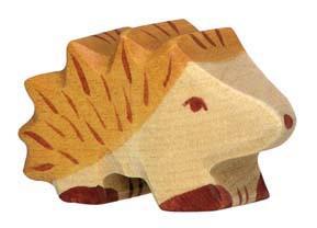 Holztiger Holzfigur Igel