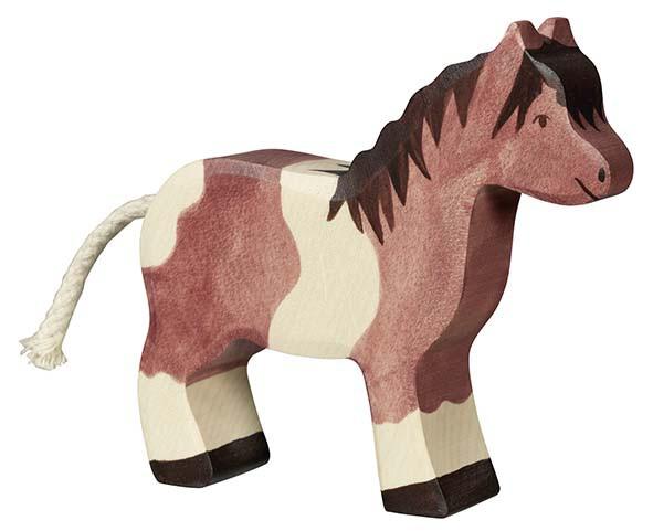 Holztiger Holzfigur Pony