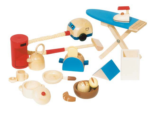 Puppenhaus Accessoires Küche
