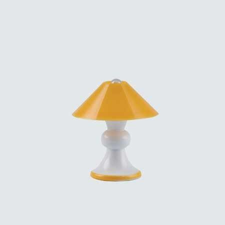Bodo Hennig Puppenhaus Beleuchtung Tischlampe gelb