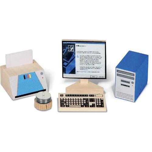 Bodo Hennig Puppenhaus Miniatur EDV-Set