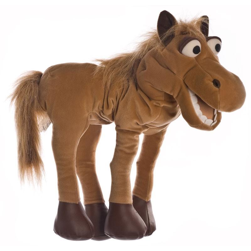 Handpuppe Helge das Pferd